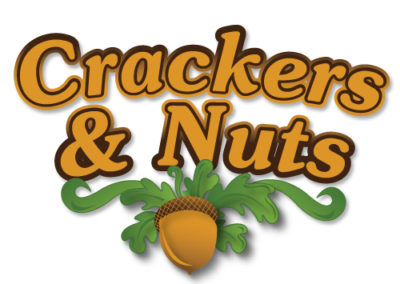 Logotipo Crackers & Nuts